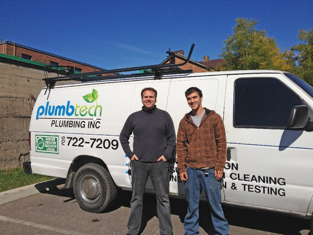 Sinks, faucets and toilette, oh my! Thanks, Plumbtech!